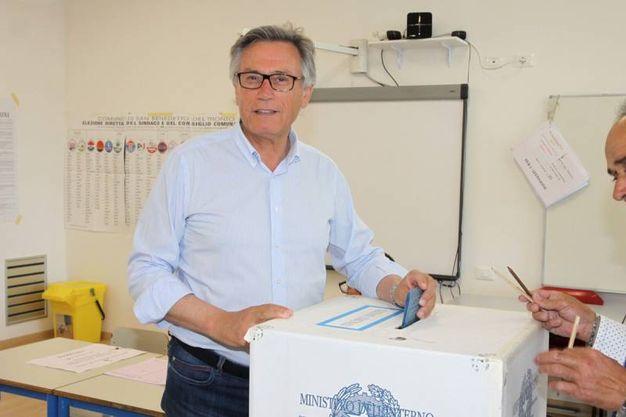 Elezioni comunali 2016, Paolo Perazzoli (Foto Sgattoni)