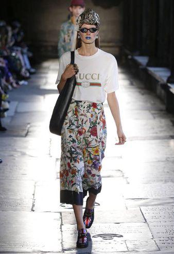 Sfilata Gucci nell'Abbazia di Westminster