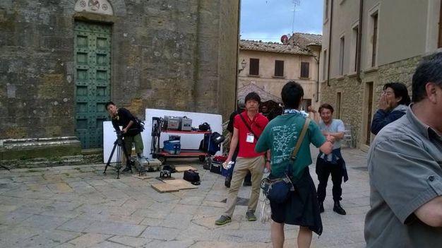 L'inizio delle riprese