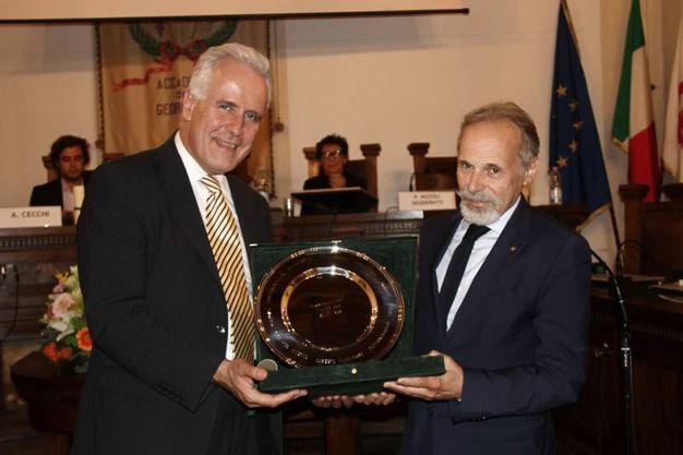 Premio alla SilFi Spa (foto Umberto Visintini/New Pressphoto)