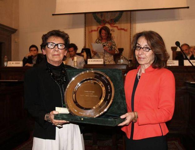 Premio a Paola Nizzoli Desisderato (foto Umberto Visintini/New Pressphoto)