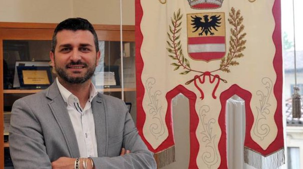 Il nuovo primo cittadino di Inzago, Andrea Fumagalli