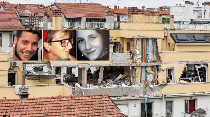 Le vittime dell'esplosione (La Presse)