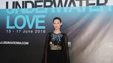 PRESSPHOTO Firenze, evento Underwater Love organizzato da Luisa via Roma  Giuseppe Cabras/New Press Photo