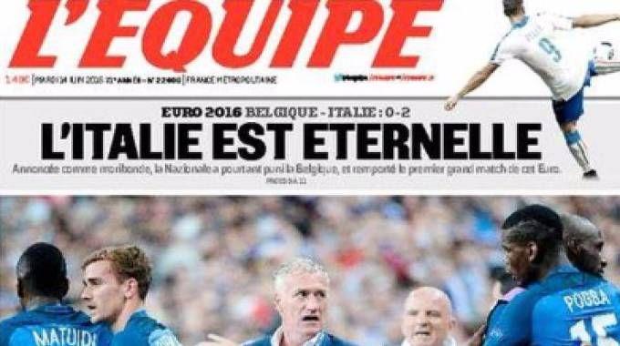 Equipe, home page all'Italia (Equipe)