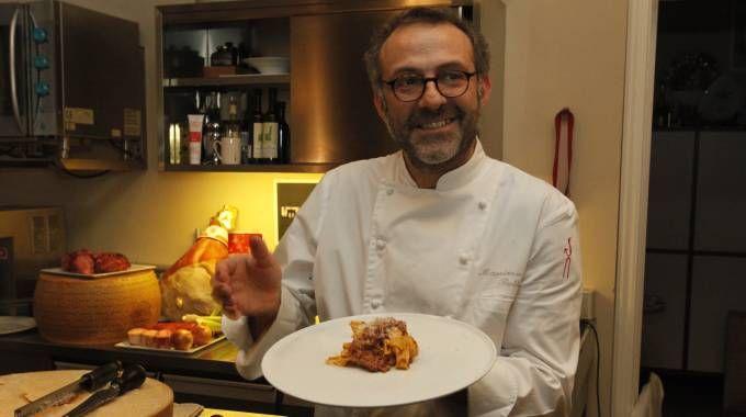 Massimo Bottura, chef dell'Osteria Francescana (FotoFiocchi)