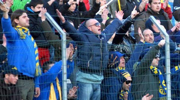 I tifosi della Carrarese