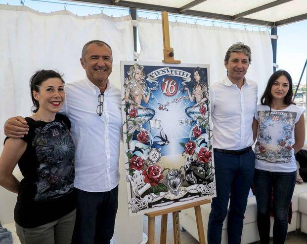 La presentazione del nuovo manifesto balneare di Rimini