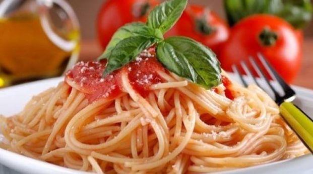Un piatto di spaghetti