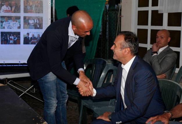 A destra, Antonio Cabrini (Foto Corelli)