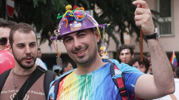 Un'immagine della prima edizione del Varese Pride