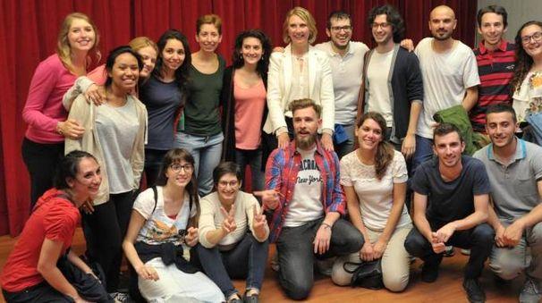 Ivonne Cosciotti con i sostenitori under 30