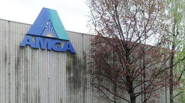 La sede di Amga S.p.A