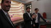 Pesaro, il ministro Dario Franceschini in visita a Casa Rossini (Fotoprint)