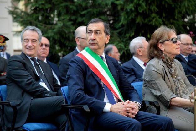 Il nuovo sindaco Beppe Sala, vincitore del ballottaggio con Stefano Parisi (Ansa)