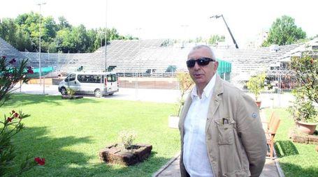 pesaro: coppa davis tennis presentazione campo da gioco