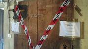 Omicidio a Modena, donna trovata cadavere dentro un frigorifero di una cantina (Foto Reggiani)