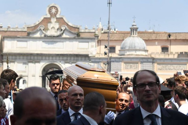 Funerali di Bud Spencer (Afp)