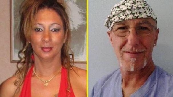 Emanuela Preceruti, la vittima, e Roberto Garini