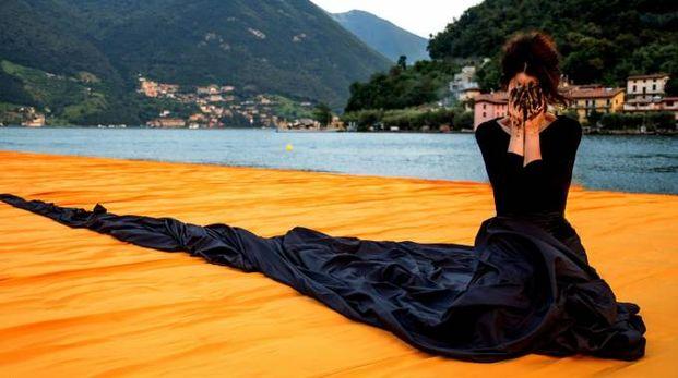 L'artista Tiziana Cera Rosco su Floating Piers
