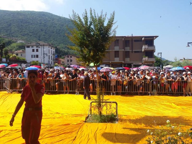 Ultimo giorno per visitare The Floating Piers