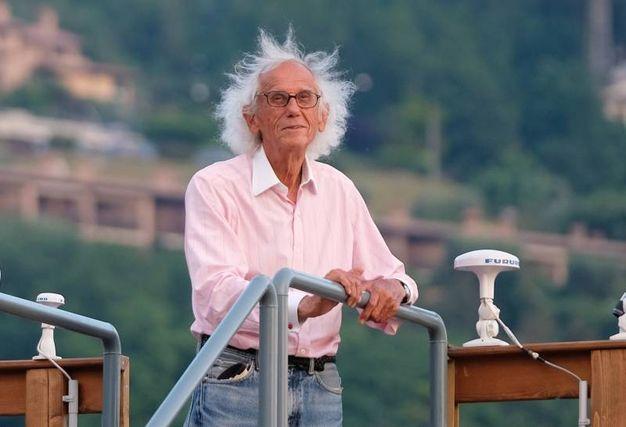 Nei suoi pensieri c'è sempre Jeanne-Claude, la moglie scomparsa nel 2009
