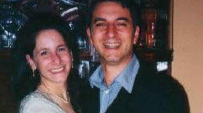 Giuseppe Pellicanò con l'ex compagna morta nell'esplosione