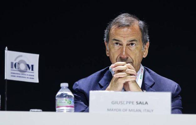 Il sindaco di Milano Beppe Sala durante Icom, la conferenza mondiale dei musei