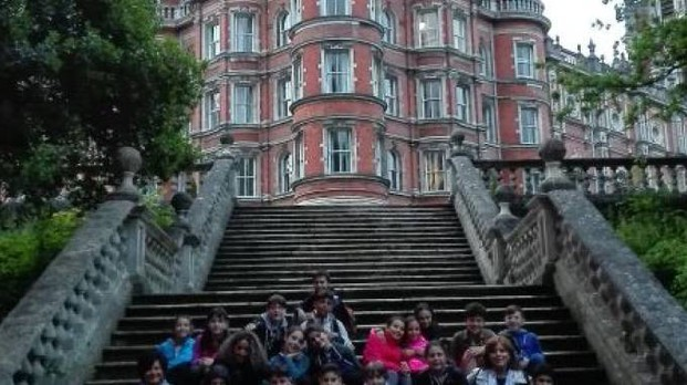 Il Royal Holloway College di Londra