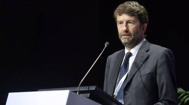 Dario Franceschini, il ministro a Milano per Icom
