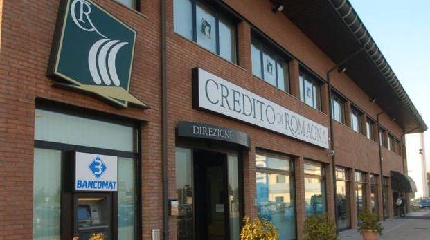 La sede del Credito di Romagna in via Ravegnana