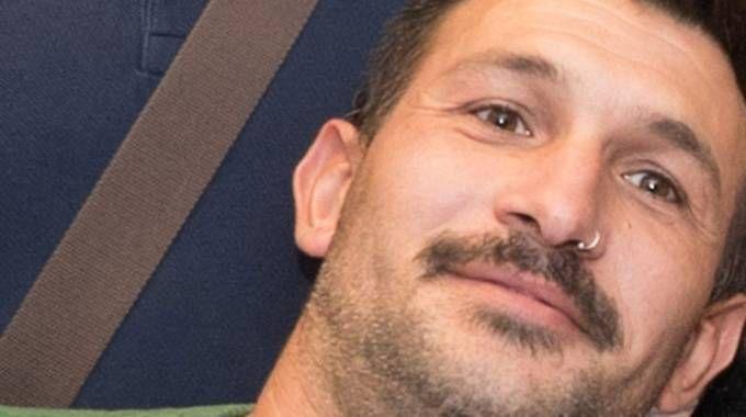 Fermo: Amedeo Mancini, accusato di aver ucciso il profugo nigeriano (foto Zeppilli)