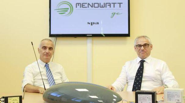 Adriano Maroni, azionista e amministratore delegato di Menowatt Ge, e Roberto Marcucci, altro azionista e amministratore delegato