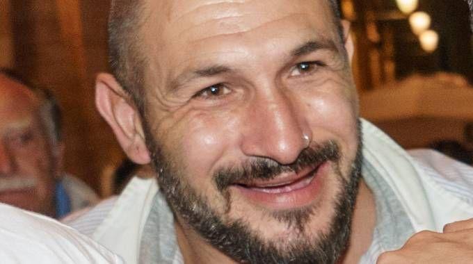 Nigeriano morto a Fermo, nella foto l'indagato Amedeo Mancini (foto Zeppilli)