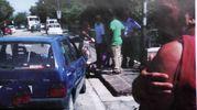 Nigeriano ucciso a Fermo: un frame della rissa