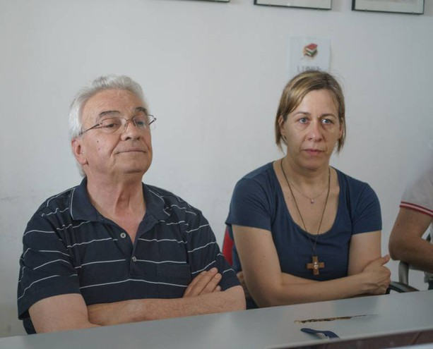 Nigeriano ucciso a Fermo: la conferenza stampa di Don Vinicio Albanesi (Foto Zeppilli)