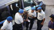 Nigeriano ucciso a Fermo, Amedeo Mancini in tribunale (Foto Zeppilli)