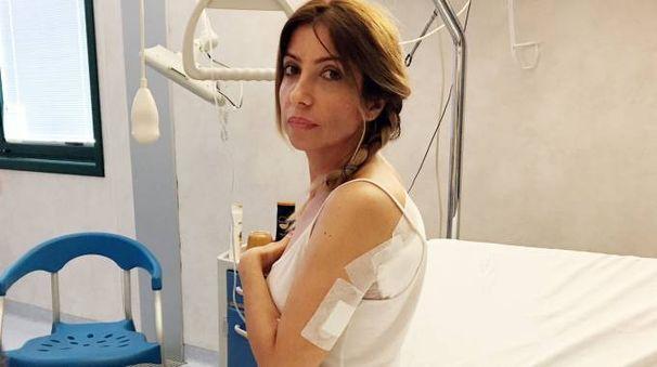 Lea Taccini in ospedale (foto Gianni Nucci/Germogli)