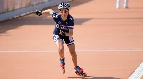 Valentina Buccolini ha vinto la gara sui 300 metri pista nella prova disputata a Scaltenigo