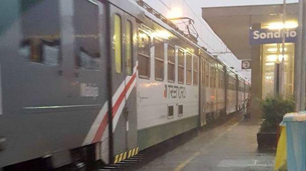 La stazione di Sondrio