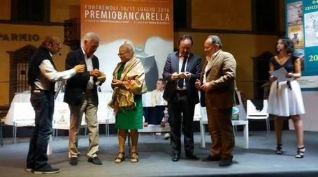 La premiazione di Maria Luisa Pieri