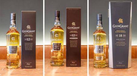 I tre nuovi whisky di Glen Grant: 12 anni, 12 non filtrato e 18 anni – Foto: Glen Grant