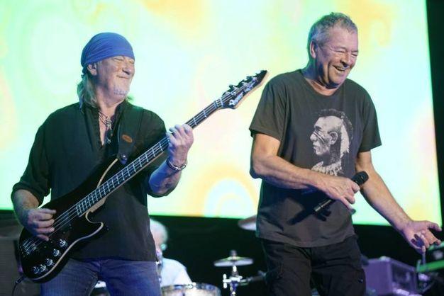 Il concerto dei Deep Purple al parco della Pace a Servigliano (foto Zeppilli)