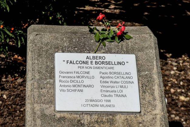 Un omaggio alle vittime della mafie (Newpress)