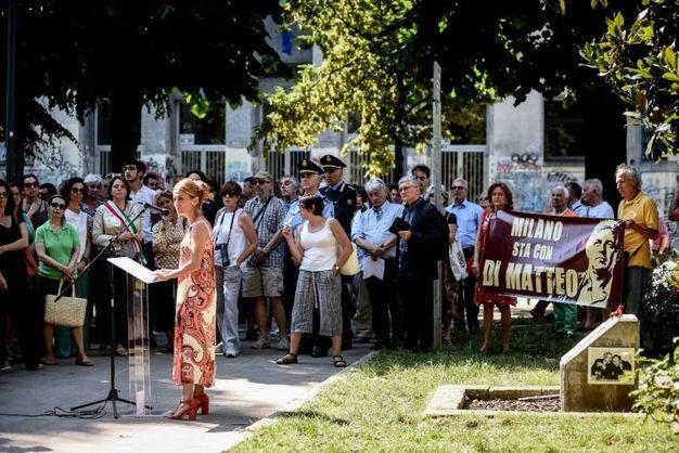 La manifestazione a Milano per ricordare le vittime delle stragi mafiose (Newpress)