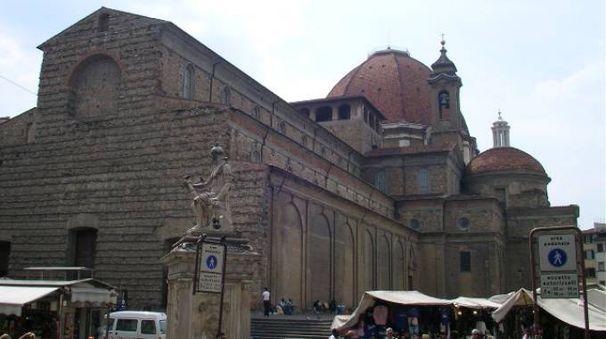 Piazza San Lorenzo a Firenze - foto Sailko (Wikipedia)