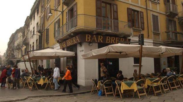 Il quartiere Brera a Milano