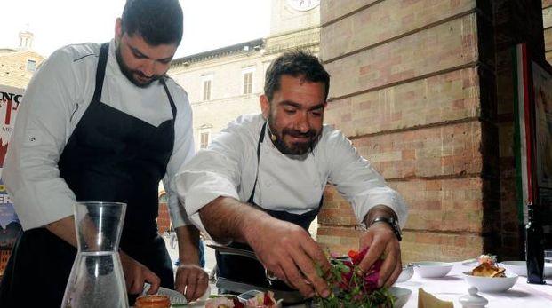Lo chef Michele Biagiola