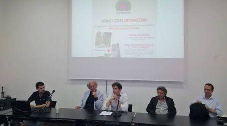 La presentazione dell'iniziativa al Camec