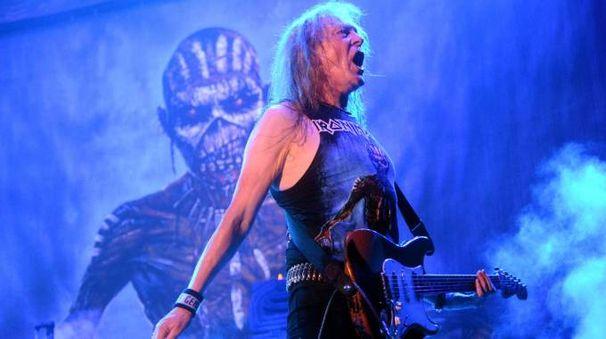 Iron Maiden in concerto (Cardini)